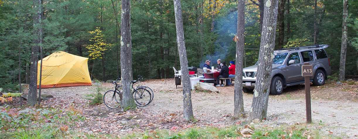 Monadnock State Park Campground